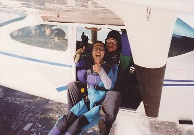 一生に一度のスカイダイビング …もう2度とやらないだろう