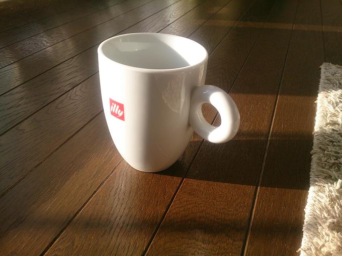 知識のない僕が好きなコーヒーilly のお気に入りカップ