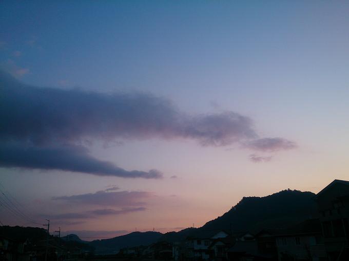 ずいぶん陽が上がるが早くなってきた~今日もイイ天気になりそうだ