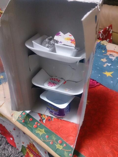 冷蔵庫が、、、デキていた~新製品(笑)