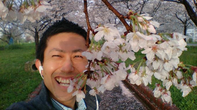 いよいよ桜のシーズンも終わり~最後はスマイルで