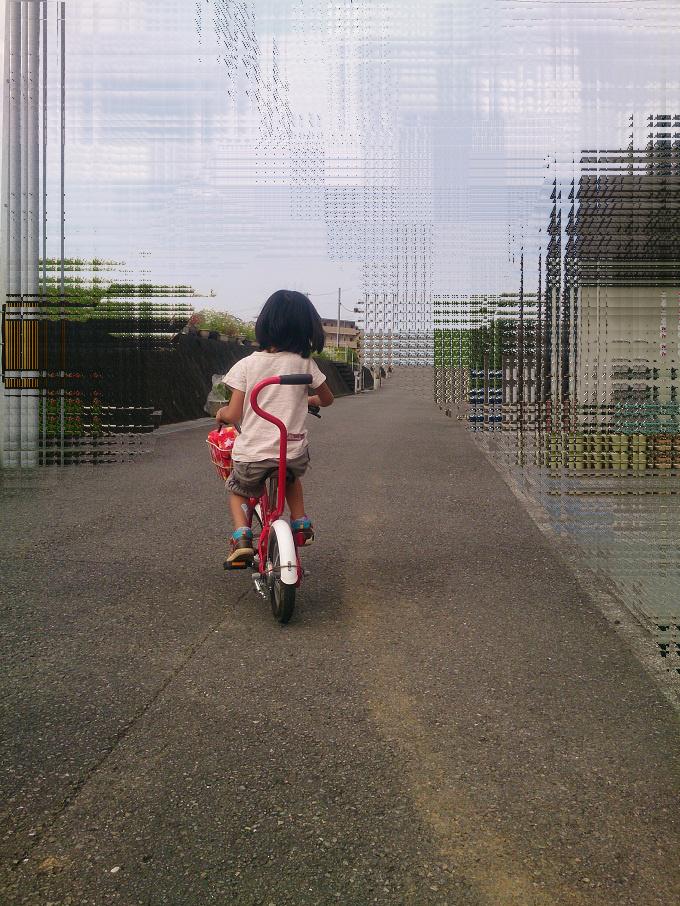 ついに娘が自転車に乗れるように~行動が範囲が広がりました^^