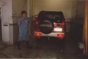 ニュージーランドで洗車の仕事をしていた頃