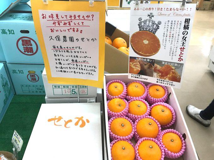 手書きPOP お土産店