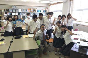 手書きPOP 講義 高校